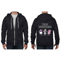 Team Vegetarian Full Zip Hoodie