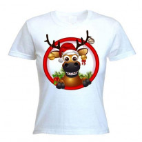 Rudolph The Red Nosed Reindeer BaublesWomen's T-Shirt