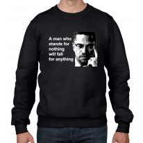 Malcolm X Quote Men's Sweatshirt Jumper
