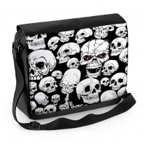 Skull Garden Skeleton Laptop Messenger Bag