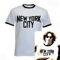 New York City T-Shirt as worn by John Lennon T-Shirt