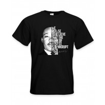 Martin Luther King Bank Of Justice Quote Men's T-Shirt