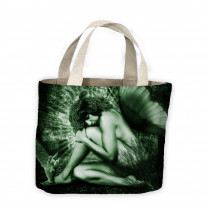 Fantasy Female Forest Elf Tote Shopping Bag For Life
