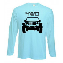 4WD - Four Wheel Drive Long Sleeve T-Shirt