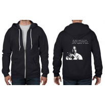 Martin Luther King Quote Full Zip Hoodie