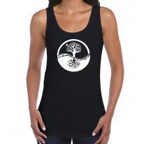 Yin and Yang Tree of Life Women's Tank Vest Top