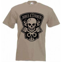 Bored and Stroked Mens T-Shirt