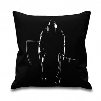 Grim Reaper Scythe Of Death Cushion