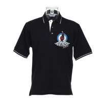 Northern Soul Dancer Mod Target Men's Tipped Polo T-Shirt