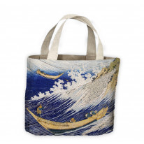 Hokusai Ocean Waves Tote Shopping Bag For Life