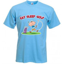 Eat Sleep Golf Mens T-Shirt