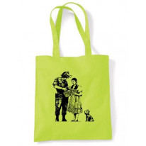 Banksy Stop And Search Shoulder Bag