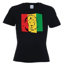 Lion Of Judah Flag Women's T-Shirt