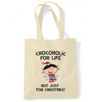 Chocoholic For Life Christmas Shoulder Bag