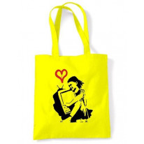 Banksy TV Girl Shoulder Bag