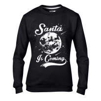 Santa Is Coming Father Christmas Women's Sweater \ Jumper