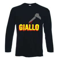 Giallo Italian Horror Film Long Sleeve T-Shirt