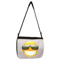 Smiley Face Acid House Laptop Messenger Bag
