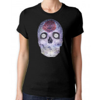 Crystal Skull Day Of The Dead Women's T-Shirt