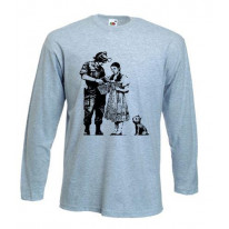 Banksy Stop & Search Long Sleeve T-Shirt