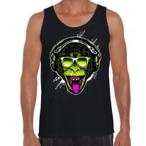 Funky Monkey DJ Men's Tank Vest Top