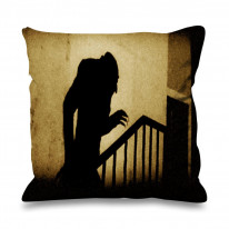 Nosferatu Stairs Faux Silk 45cm x 45cm Sofa Cushion
