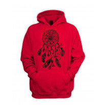 Dreamcatcher Native American Hipster Men's Pouch Pocket Hoodie Hooded Sweatshirt