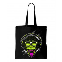 Funky Monkey DJ Tote Shoulder Shopping Bag