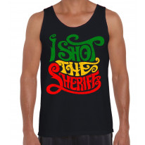 I Shot The Sheriff Reggae Men's Tank Vest Top