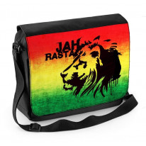 Jah Rasta Laptop Messenger Bag