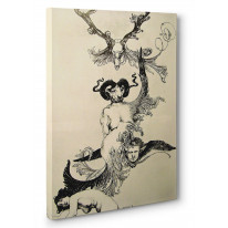 Austin Osman Spare Ascension of the Ego Box Canvas Print Wall Art - Choice of Sizes