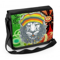 Lion Of Judah Reggae Laptop Messenger Bag