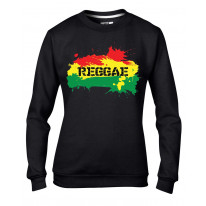 Reggae Splash Rasta Women's Sweatshirt Jumper