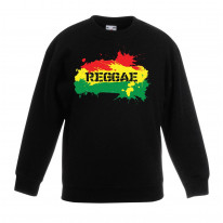 Reggae Splash Rasta Children's Unisex Sweatshirt Jumper