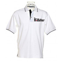 The Modfather Mod Tipped Polo T-Shirt