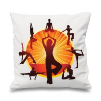 Yoga Wheel Sofa Cushion