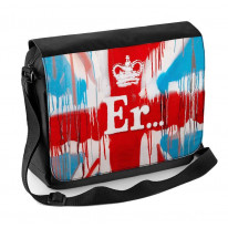 Banksy ER Laptop Messenger Bag