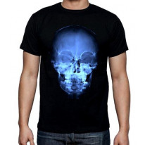 X-Ray Skull Men's Halloween T-Shirt