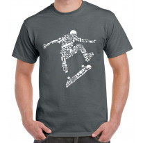 Skateboarder Men's T-Shirt