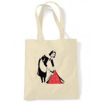 Banksy Maid Shoulder bag