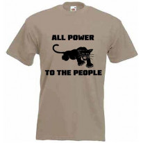 Black Panther All Power To The People T-Shirt