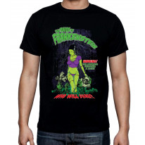 Bride of Frankenstein Who Will Dare Men's T-Shirt