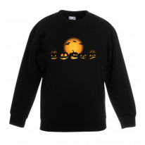 Halloween Pumpkins Children's Unisex Sweatshirt Jumper