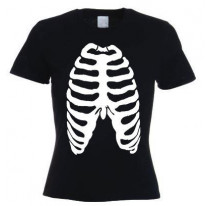 Skeleton Ribcage Women's T-Shirt