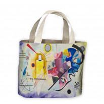 Wassily Kandinsky Yellow Red Blue Tote Shopping Bag For Life