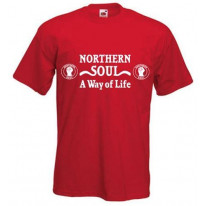 Northern Soul A Way Of Life White Print T-Shirt