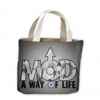 Mod A Way Of Life Tote Shopping Bag For Life
