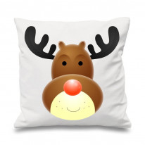 Rudolph The Red Nosed Reindeer Xmas Cushion