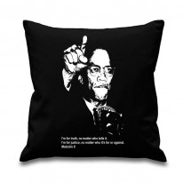 Malcolm X Quote Scatter Cushion