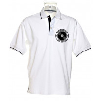 Northern Soul Keep The Faith Record Men's Tipped Polo T-Shirt